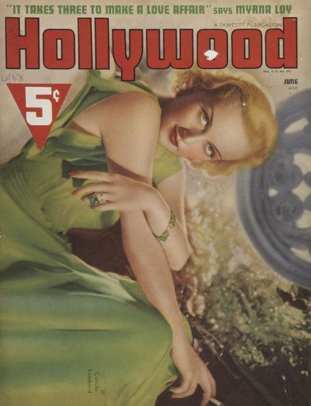 Carole Lombard - Hollywood Magazine [United States] (June 1938)