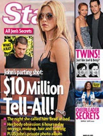 Jennifer Aniston - Star Magazine [United States] (30 March 2009)