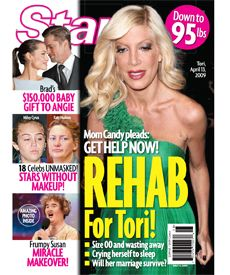 Tori Spelling - Star Magazine [United States] (4 May 2009)