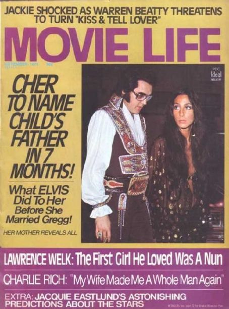 Elvis Presley - Movie Life Magazine [United States] (November 1975)