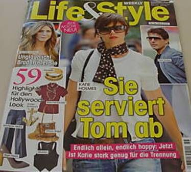 Jennifer Aniston - Life & Style Magazine [Germany] (28 August 2008)