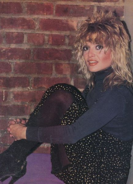 Nina Blackwood - Photographs of Nina, Then and Now - The Official ...
