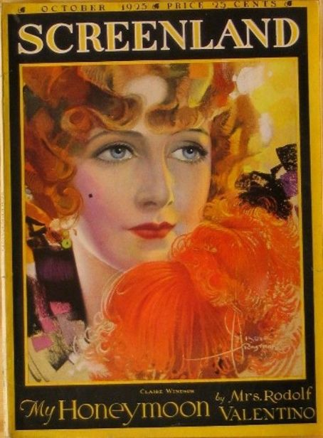 Claire Windsor - Screenland Magazine [United States] (October 1923)