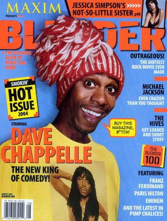 Dave Chappelle - Blender Magazine [United States] (August 2004)