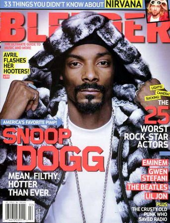 Snoop Dogg - Blender Magazine [United States] (February 2005)