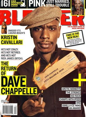 Dave Chappelle - Blender Magazine [United States] (April 2006)
