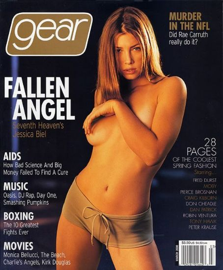 Jessica Biel - Gear Magazine [United States] (March 2000)