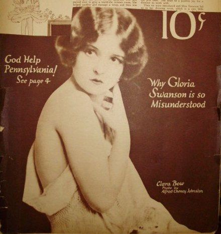 Clara Bow - Movie Weekly Magazine [United Kingdom] (17 May 1924)