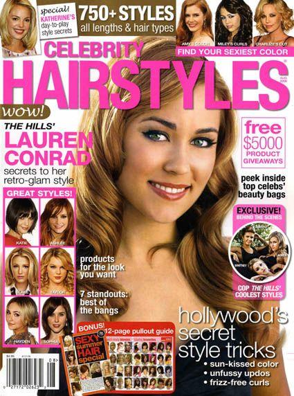 Related Links: Lauren Conrad, Celebrity Hairstyles Magazine [United States]