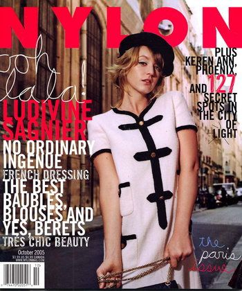 Ludivine Sagnier - Nylon Magazine [United States] (October 2005)