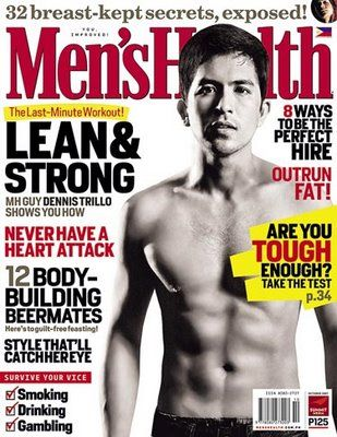 Dennis Trillo - Men's Health Magazine [Philippines] (October 2007)