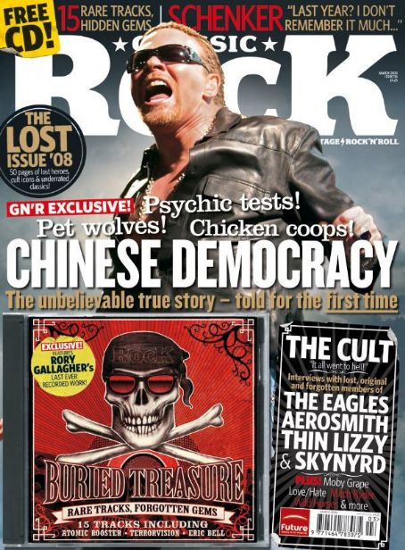 Axl Rose - Classic Rock Magazine [United States] (June 2008)