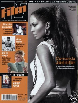 Jennifer Lopez - Film TV Magazine [Italy] (October 2005)