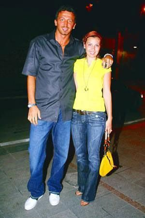 Hidayet Turkoglu and Banu Turkoglu