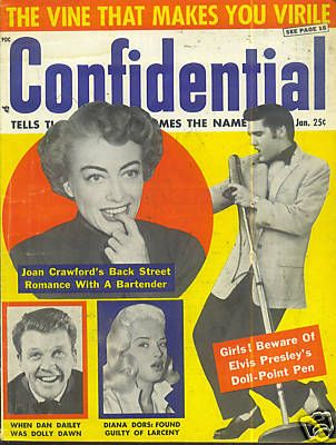 Elvis Presley - Confidential Magazine [United States] (January 1957)
