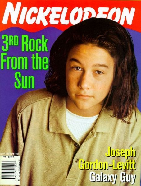 Joseph Gordon-Levitt - Nickelodeon Magazine [United States] (25 February 1997)