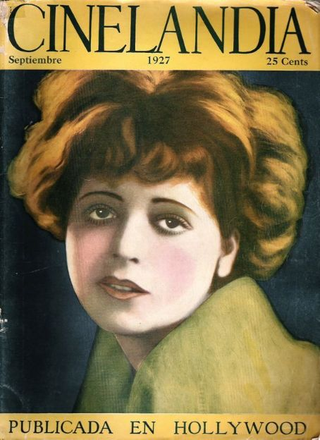Clara Bow - Cinelandia Magazine [Argentina] (September 1927)
