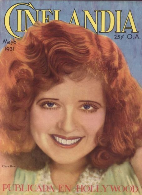 Clara Bow - Cinelandia Magazine [Argentina] (May 1931)