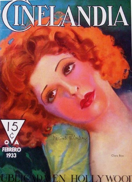 Clara Bow - Cinelandia Magazine [Argentina] (February 1933)