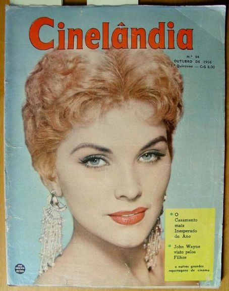 Debra Paget - Cinelandia Magazine [Argentina] (October 1956)