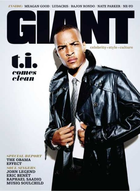 T.i Harris - Giant Magazine [United States] (October 2008)