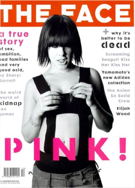 Pink - The Face Magazine Cover [United Kingdom] (December 2002)