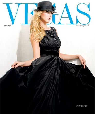 Whitney Port - Vegas Magazine [United States] (October 2008)