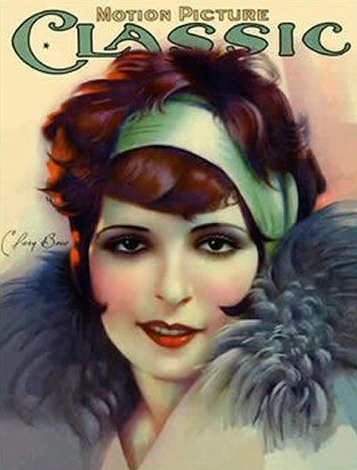 Clara Bow - Motion Picture Classic Magazine [United States] (July 1927)