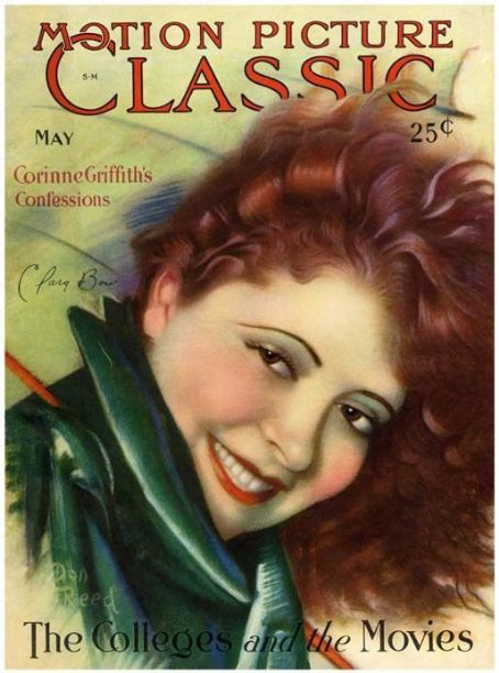 Clara Bow - Motion Picture Classic Magazine [United States] (May 1929)