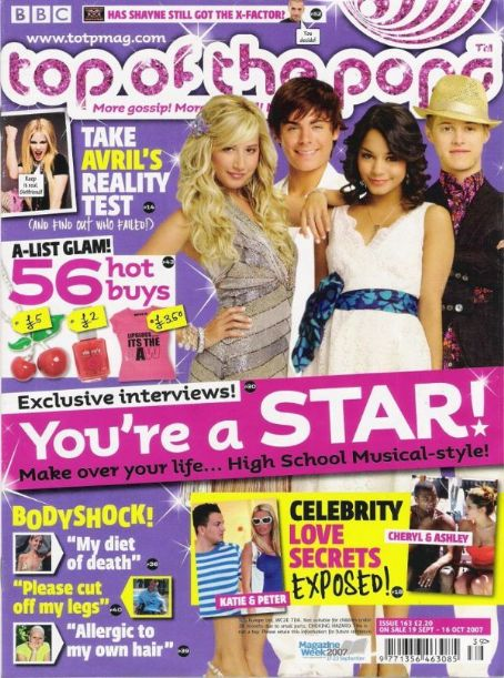 Vanessa Hudgens - Top of the Pops Magazine [United States] (16 October 2007)