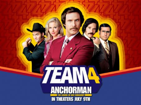Anchorman: The Legend of Ron Burgundy Anchorman wallpaper - 2004