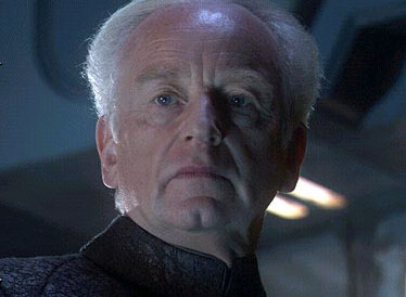Ian McDiarmid  as Supreme Chancellor Palpatine in 20th Century Fox' action/adventure Star Wars: Episode III - Revenge of the Sith - 2005