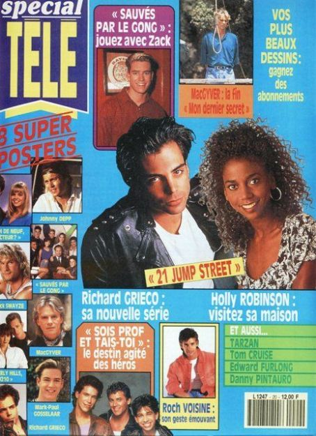 Richard Grieco - Special Tele Magazine [France] (January 1992)