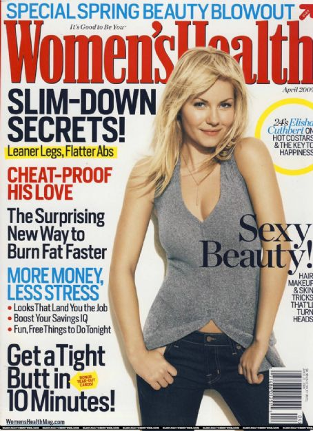Elisha Cuthbert - Women's Health Magazine [United States] (April 2009)