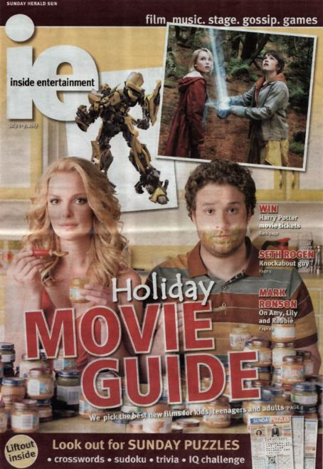 Katherine Heigl - ie-inside entertainment Magazine [Australia] (1 July 2007)