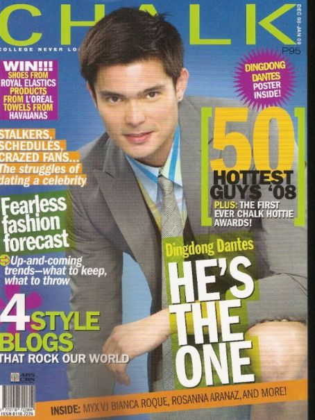 Dingdong Dantes - Chalk Magazine [Philippines] (December 2008)
