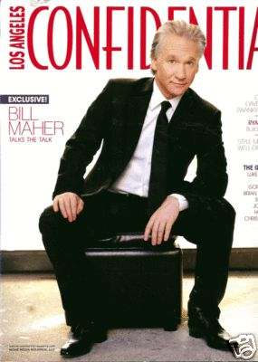 Bill Maher - Los Angeles Confidential Magazine [United States] (October 2008)