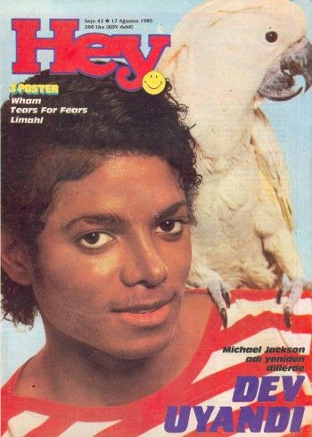 Michael Jackson - Hey Magazine [Turkey] (17 August 1985)