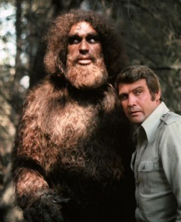 Lee Majors - André the Giant as Bigfoot on the Six Million Dollar Man