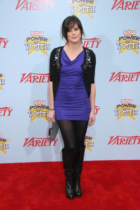 Chelsea Hobbs  - Variety's 3 Annual Power Of Youth Event At Paramount Studios, On December 5, 2009 In Los Angeles, California