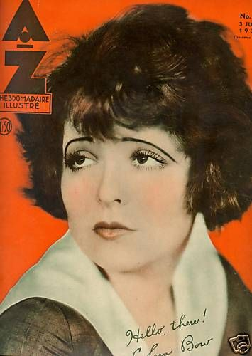 Clara Bow - AZ Magazine [Belgium] (June 1934)