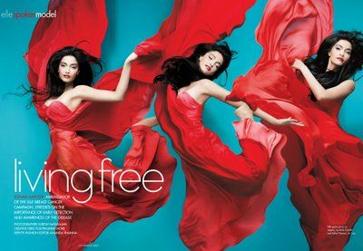 Sonam Kapoor  Elle Magazine Pictorial March 2009