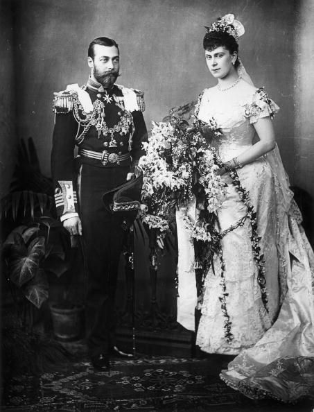 Queen Mary and King George V