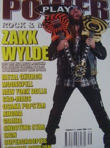 Zakk Wylde - Power Play Magazine Cover [United States] (July 2005)