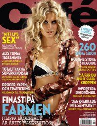 Filippa Lagerback - Cafe Magazine [Sweden] (November 2004)