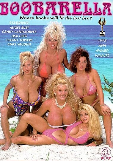 Tiffany Towers Boobarella VHS Cover