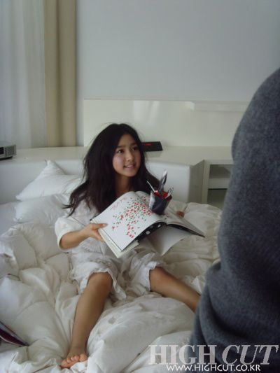 So-eun Kim Kim So Eun High Cut Magazine Photo Shoot