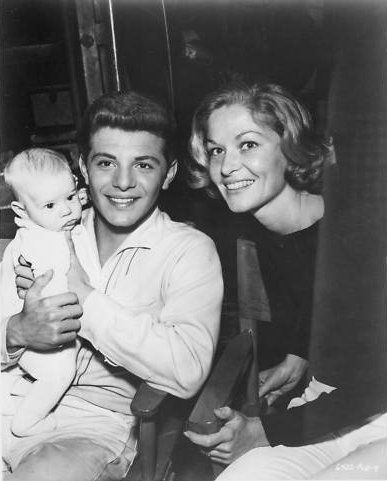 Frankie Avalon and Kathryn Diebel