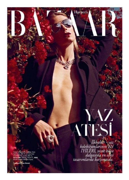 Angela Lindvall Harper's Bazaar Turkey May 2012