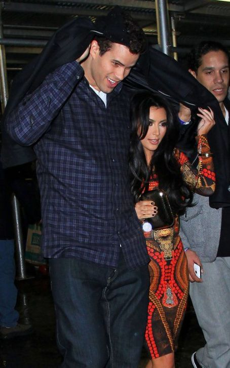 Kris Humphries Leaving the Prince concert at MSG (February 7).